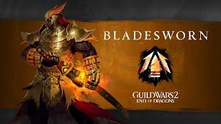 Guild Wars 2: Eฑd of Dragons Elite Specializations - Bladesworn (Warrior)