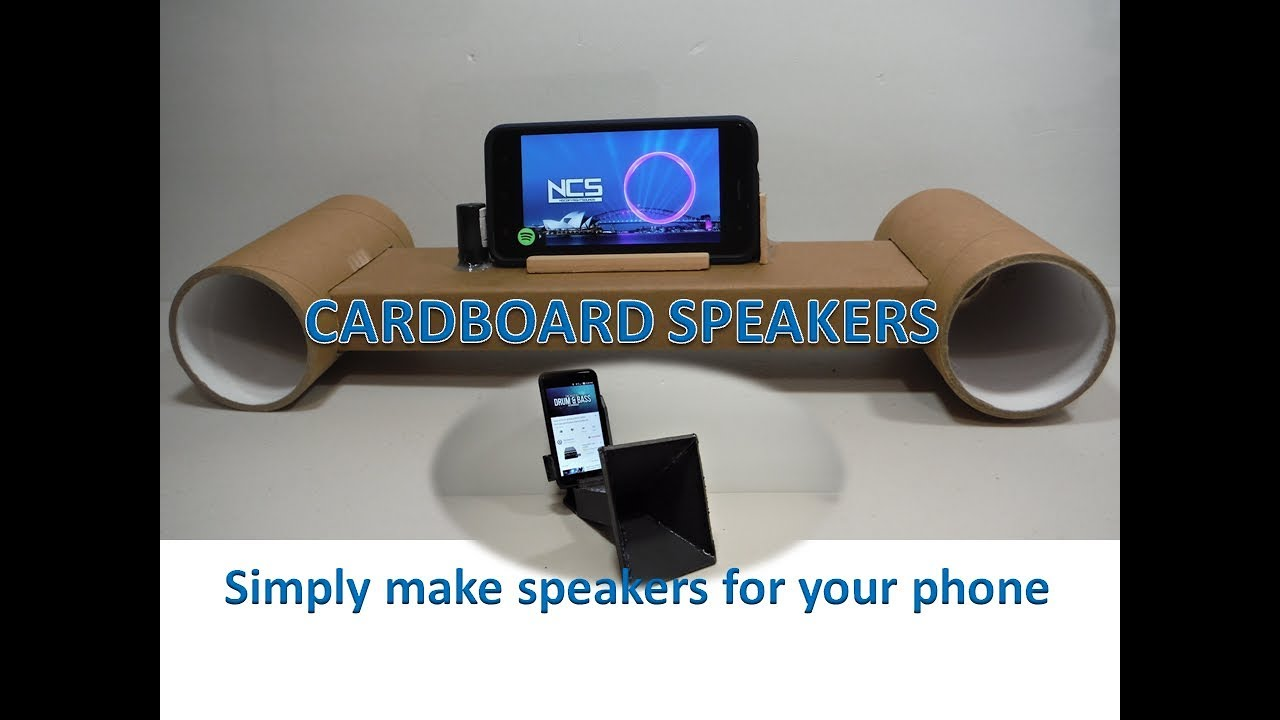 how to make an iphone speaker with a cup