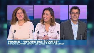 Nicolas Sarkozy devant les juges pour l'affaire des