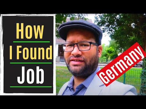 How I found a job in Frankfurt, Germany   IT Jobs   Rajesh Vyas from India