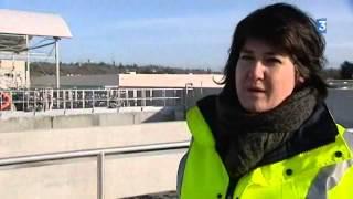 Nouvelle station d'épuration à Vendôme (Loir-et-Cher)