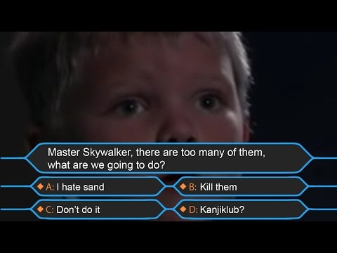 Master Skywalker, There Are Too Many Of Them, What Are We Going To Do?