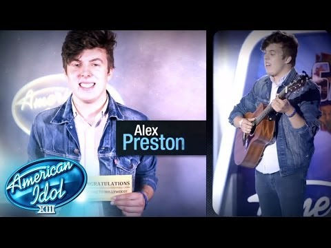 #thisisreal: Alex Preston - AMERICAN IDOL SEASON XIII