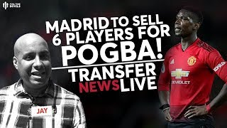 MAN UTD Transfers: Real Madrid Set To Fund Pogba Fee!!
