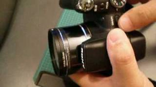 Sony DSC-HX1 Digital Camera - Make A Custom Filter Adapter Ring - Part1