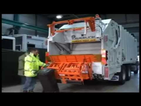 Excel Waste Management division Terberg bin lifters