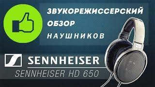 Обзор наушников Sennheiser HD 650