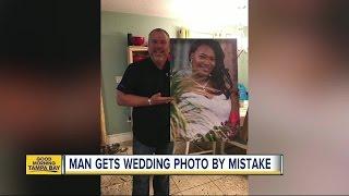 Florida man finds South Carolina bride after photo canvas mix-up
