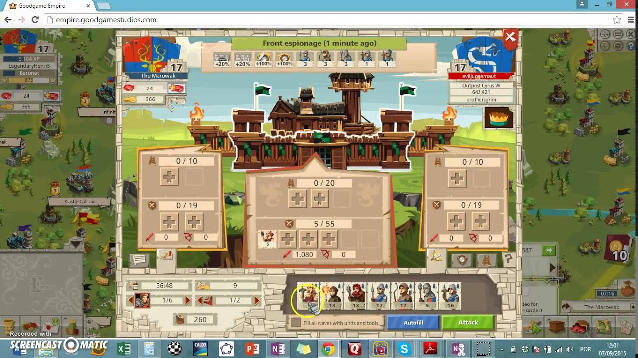 Empire 4 Kingdoms 91 troop attack!!