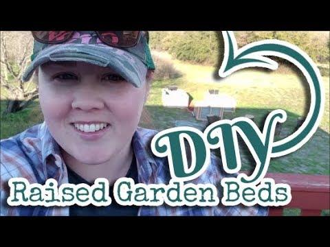 DIY CORRUGATED METAL RAISED BEDS   GARDEN   REPURPOSE   SALVAGED MATERIALS