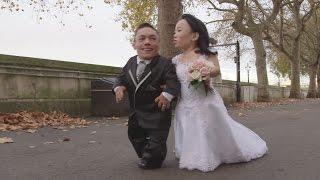 Meet the world's smallest married couple - Paulo and Katyucia