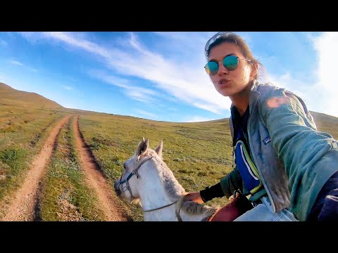 7 Days Horse Trekking ALONE in Mongolia