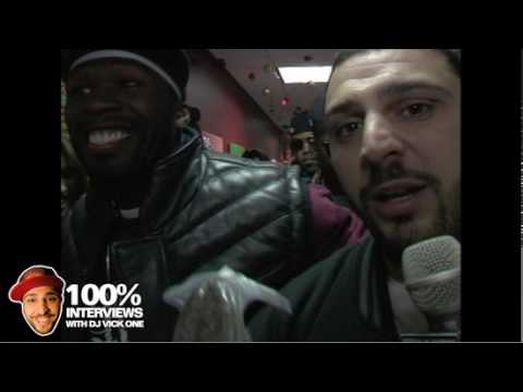 50 Cent at Cali Christmas with Dj Vickone Power 106