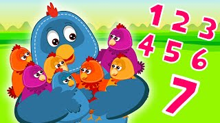 Learning 1 To 7 Numbers | Learning Numbers For Kids | Number Song