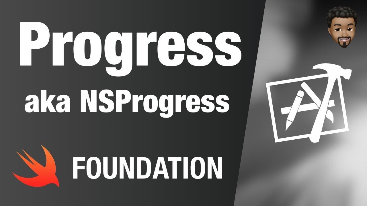 Progress (NSProgress) | Swift 4, Xcode 10
