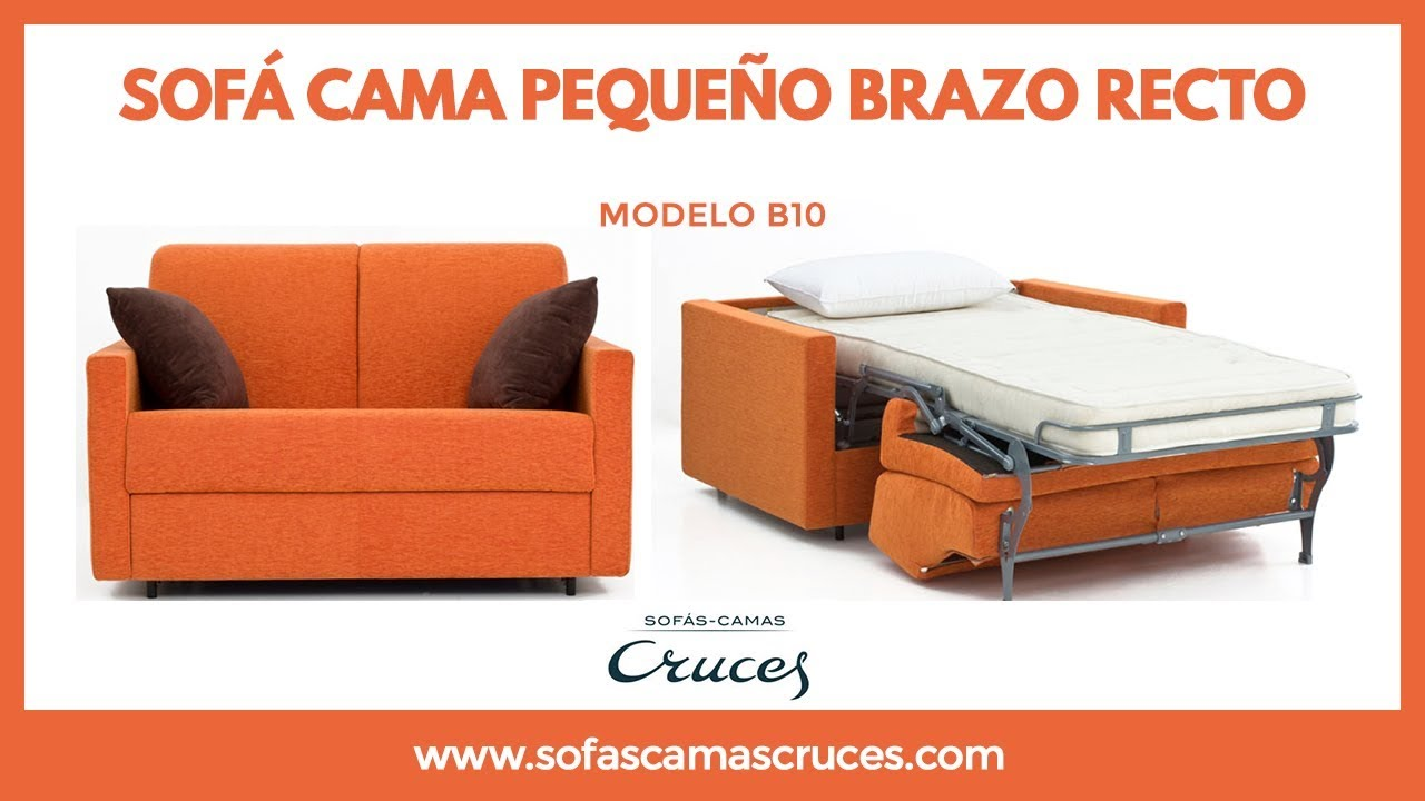 Sof cama peque o youtube for Sofa cama pequeno conforama