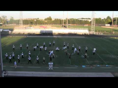 Central Lee High School at the Mount Pleasant Marching Invitational 2015