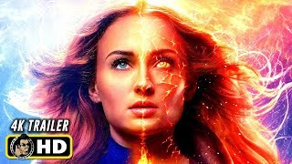 X-MEN: DARK PHOENIX (2019) All Clips, Trailers & BTS [4K ULTRA HD]