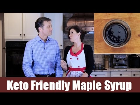 Keto Friendly Maple Syrup