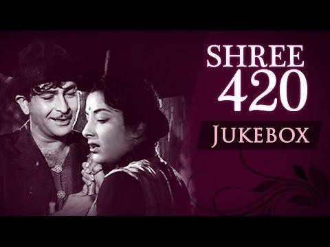 Shree 420  All Songs HD  Jukebox  Raj Kapoor & Nargis  Evergreen Bollywood Classic Songs