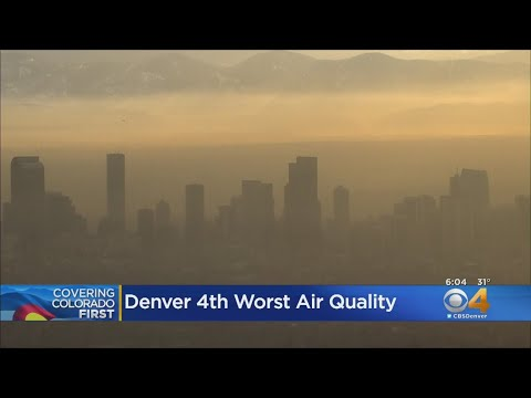 Denver Ranked 4th For Worst Air Pollution In U.S.