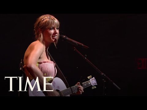 Taylor Swift Performs At The TIME 100 Gala   TIME