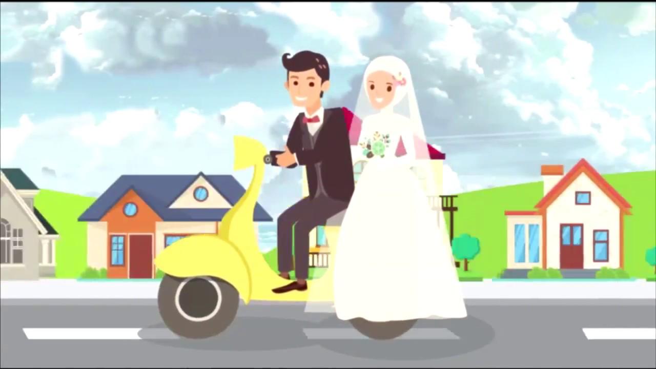 Membuat Video Animasi Undangan Pernikahan Syar I