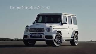 2019 Mercedes G63 AMG - Trailer