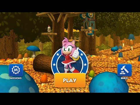 Sonic Dash Amy Fullscreen Android Gameplay