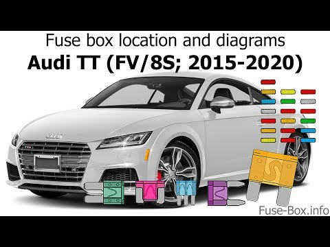 Fuse box location and diagrams: Audi TT (2015-2020) - YouTubeYouTube