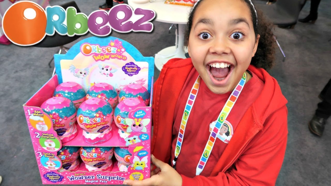 New Orbeez Wow World Surprise Presents Nyc Toy Fair Toys