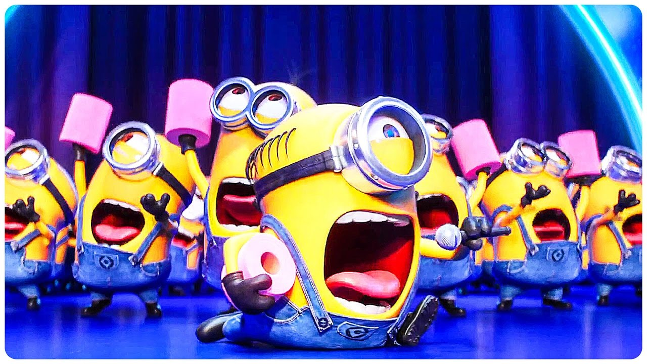 "Despicable Me 3 ""Dancing Minions"" Extended Trailer (2017 ..."