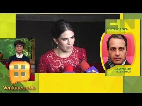 Gustavo Loza habla en exclusiva para Ventaneando sobre Karla Souza