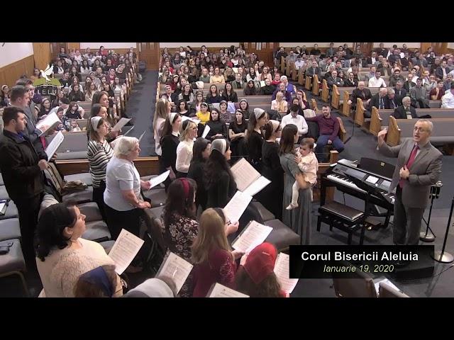 Corul Bisericii Aleluia - Ianuarie 19, 2020