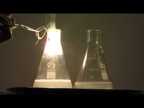 Burning Magnesium In Carbon Dioxide