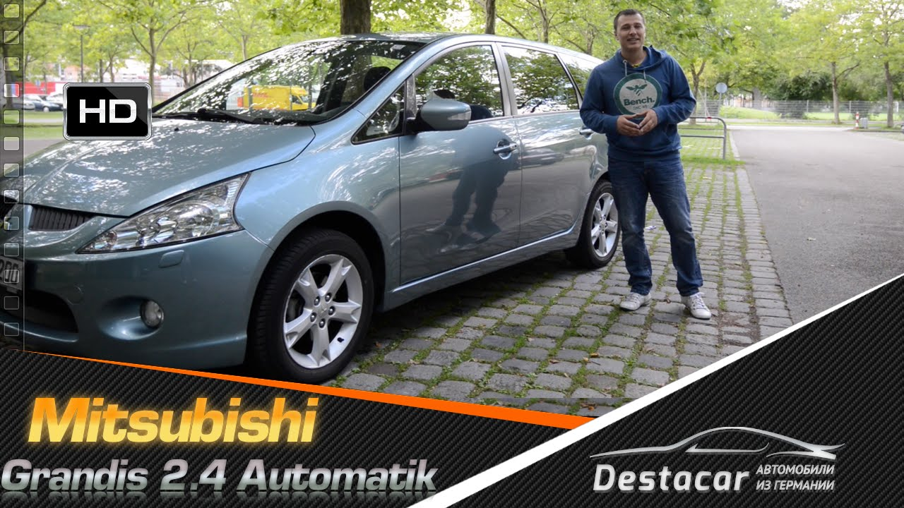 Обзор mitsubishi grandis 2.4 benzin automatik - youtube
