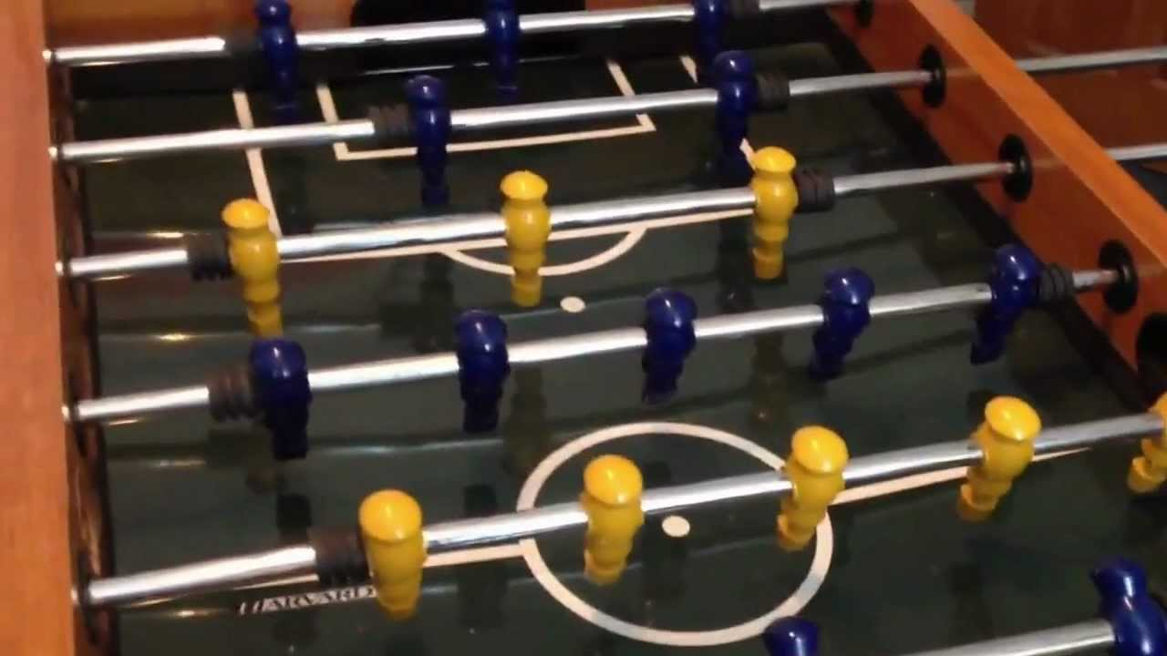 Harvard table football - YouTube