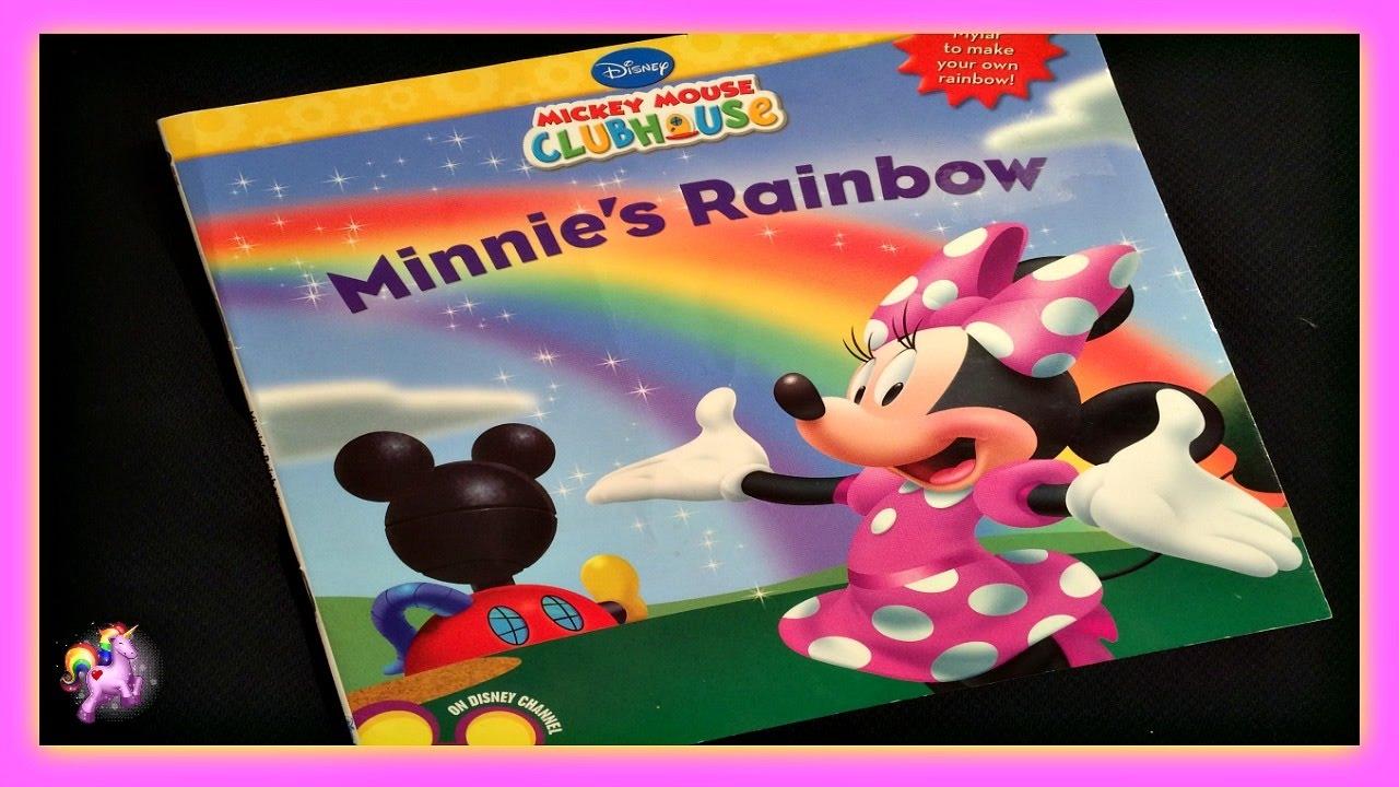 Disney Minnie Mouse Minnie S Rainbow Read Aloud Storybook For