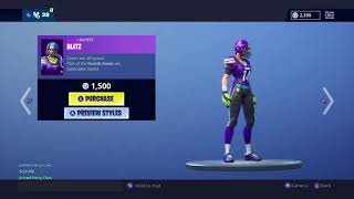 Fortnite Battle Royale NOUVEAU Cheer Up Emote Blitz Skin.