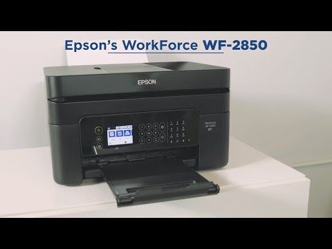 Epson WorkForce WF-2850 All-in-One Printer | Take a tour | :60