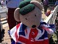 Trent Bridge Mascot Bear Yorkshire Tea, Test Match 4 July 17