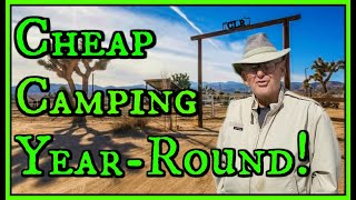 Very Inexpensive Year-Around Camping Near Tucson, RV Site Less Than The Price of Storage