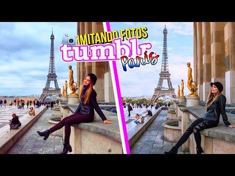 IMITANDO FOTOS TUMBLR en PARÍS! 📸💕 | Katie Angel
