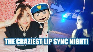 Ariana Grande Lip Sync -The police showed up ! | Storytime