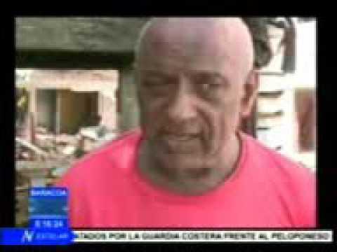 Situacion Post Huracan Matthew y recuperacion en Guantanamo (Baracoa) Cuba 08/10/2016.-