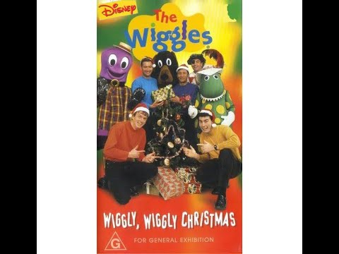 The Wiggles: Wiggly Wiggly Christmas (1997 VHS) (Australia) (Disney)