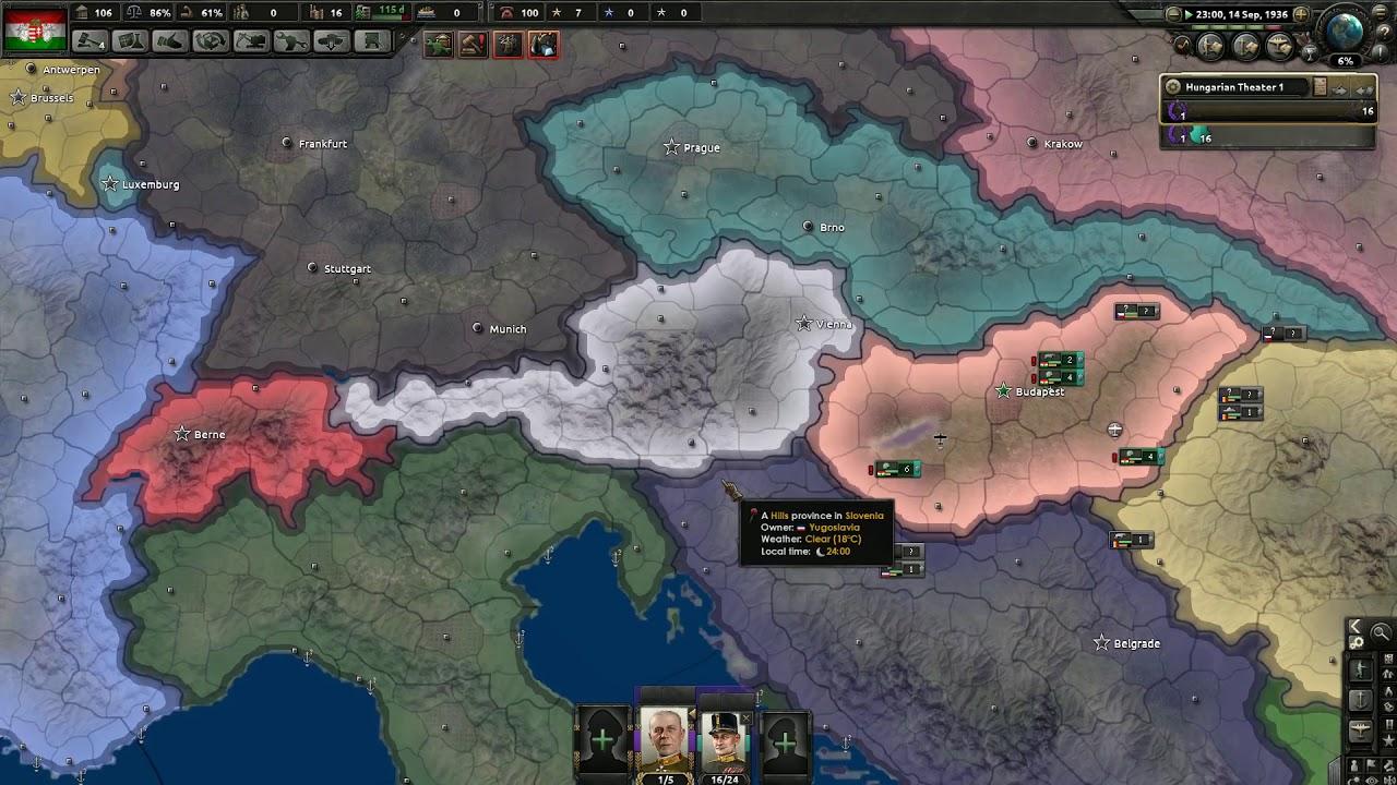 Đế Quốc Áo-Hung #part1: HOI 4 - Suôn Sẻ