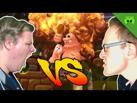 WORMS 🎮 Br4mm3n vs Jay 2.0 #10