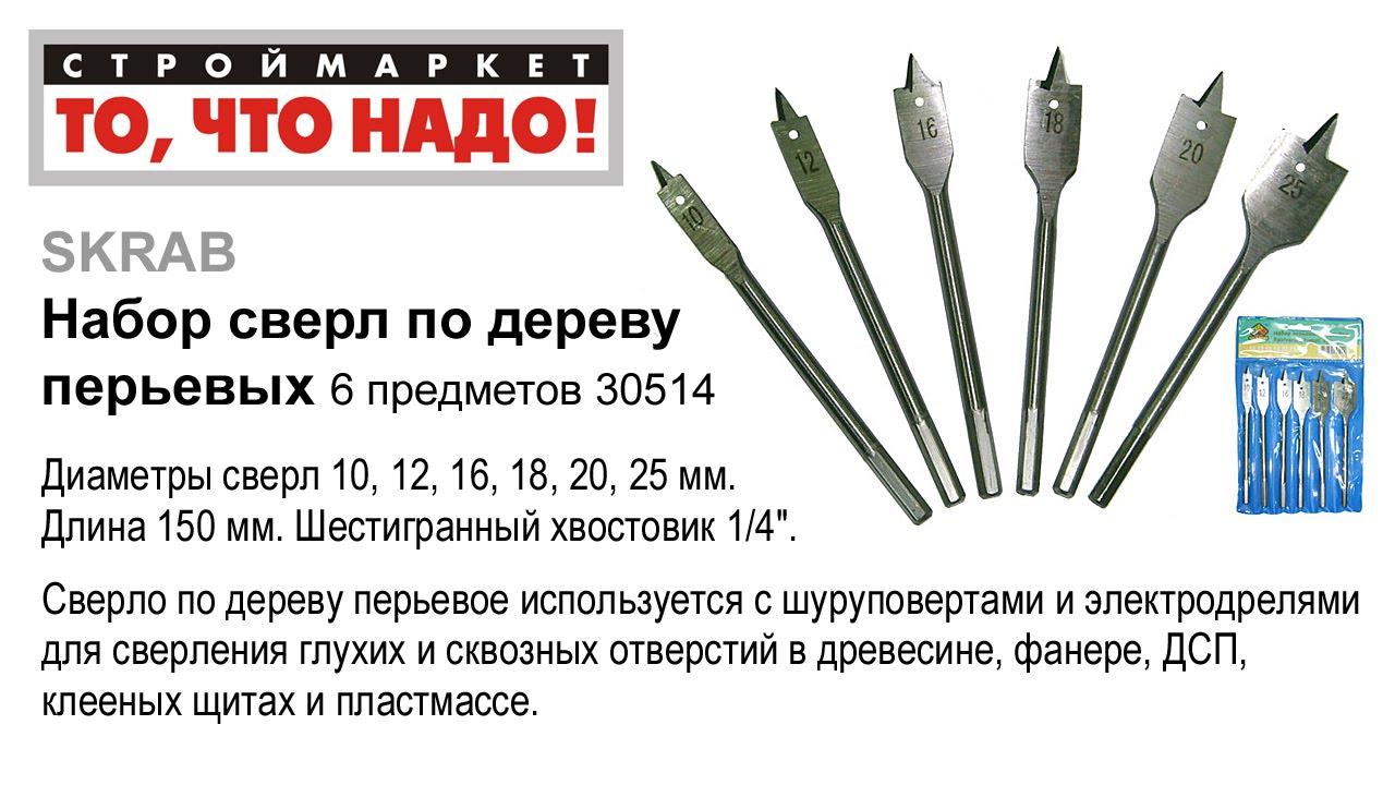 В интернет-магазине инструментов бобёр вы можете купить перовые сверла по дереву энкор по самым низким ценам с доставкой по украине, киеву, днепропетровску, одессе, харькову. /.