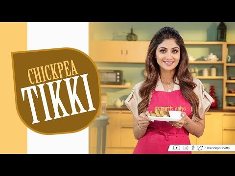Chickpea Tikki (Patties) | Shilpa Shetty Kundra | Healthy Recipes | The Art Of Loving Food